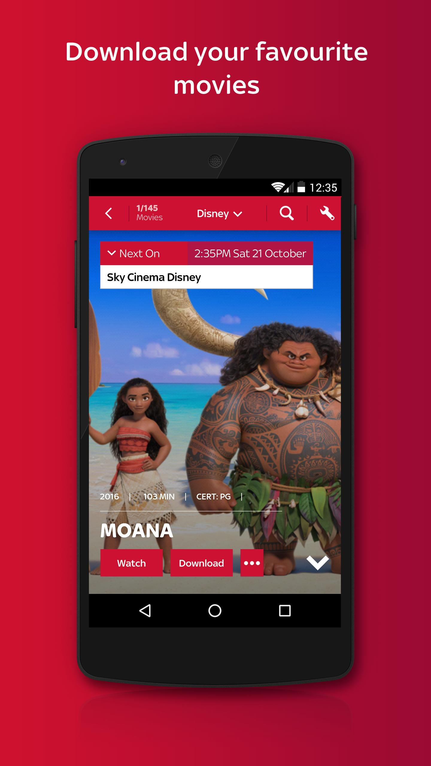 Sky Cinema for Android - APK Download