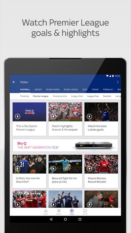 how to watch sky sports for free on android