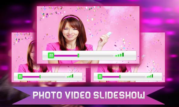 PHOTO VIDEO SLIDESHOW PRO 2017 apk screenshot