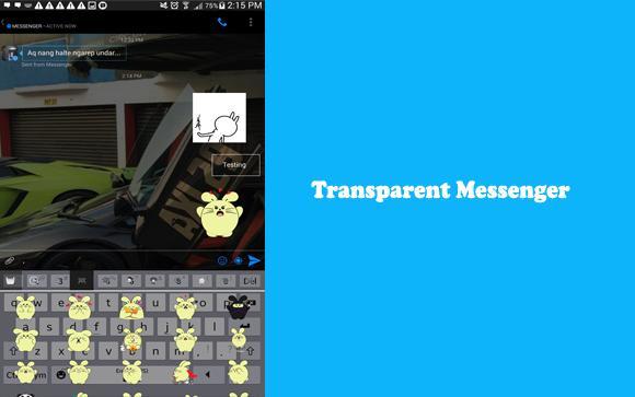 Messenger lite mod apk transparent | Messenger Lite APK +
