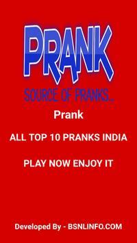 Pranks Station poster