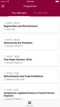 BSSH Spring Meeting 2016 apk screenshot