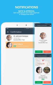 SmartPresence Dashboard apk screenshot