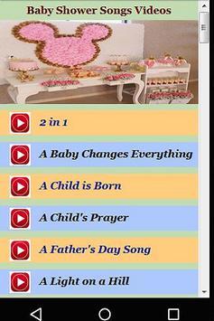 Baby Shower Songs Videos apk screenshot