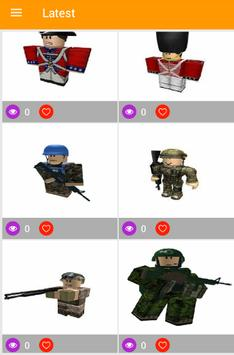 Roblox Avatar And Skin Sample Wallpapers poster