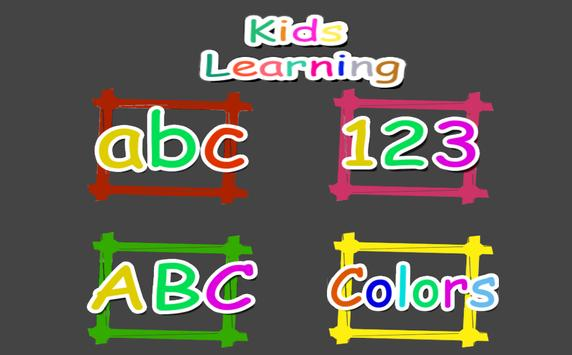 Kids Learning poster