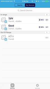 TransXBeacon screenshot 1
