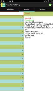 French Vietnamese Dictionary screenshot 4