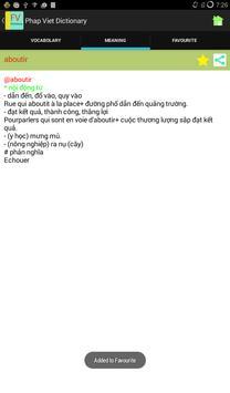 French Vietnamese Dictionary screenshot 5