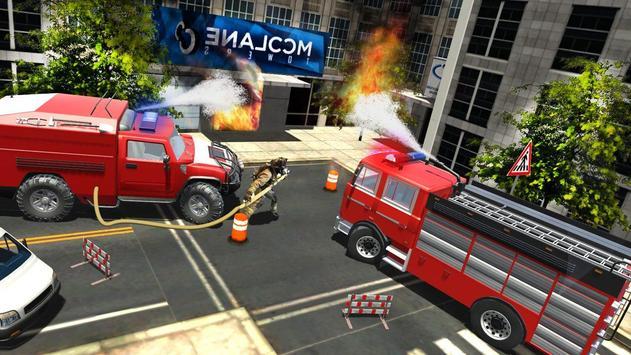 Firefighter - Simulator 3D poster