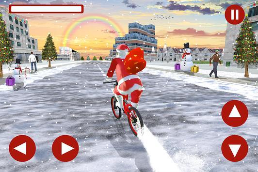 Santa Bicycle Rider:Xmas Special screenshot 8