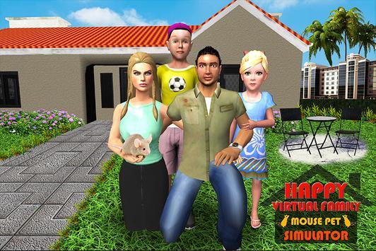 Happy Virtual Family Mouse Pet simulator screenshot 3