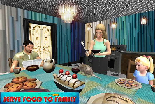 Happy Virtual Family Mouse Pet simulator screenshot 1