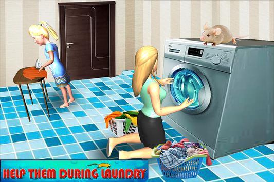 Happy Virtual Family Mouse Pet simulator screenshot 7