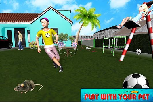 Happy Virtual Family Mouse Pet simulator screenshot 4