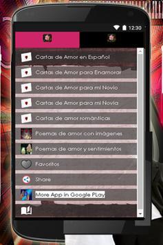 Frases De Amor Y Versos Bonito apk screenshot