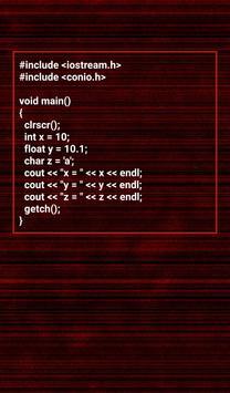 C++ Programs Workout Pro apk screenshot