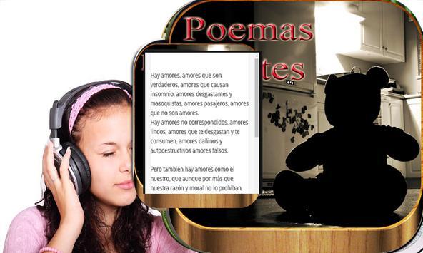 Sad love poems poster