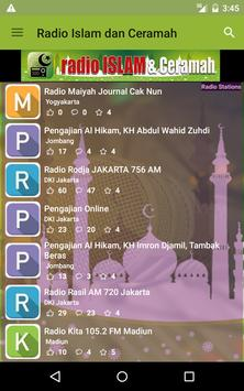 Islamic Radio and Ceramah screenshot 3