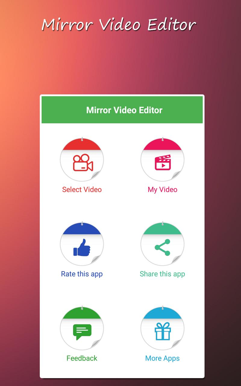 Mirror Video Editor for Android - APK Download