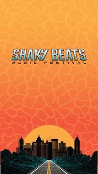 Shaky Beats Music Fest App poster