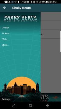Shaky Beats Music Fest App apk screenshot