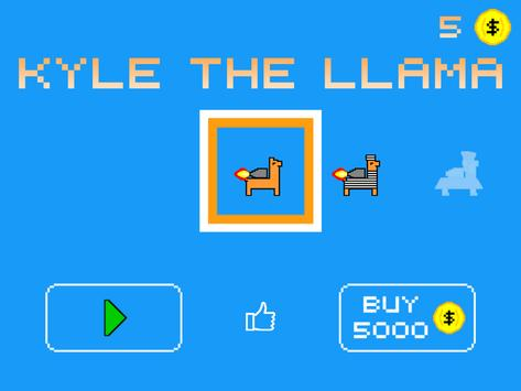 LLAMARAMA - ft. Kyle the Llama apk screenshot