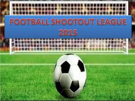 Football Shoot Out League 2015 apk screenshot