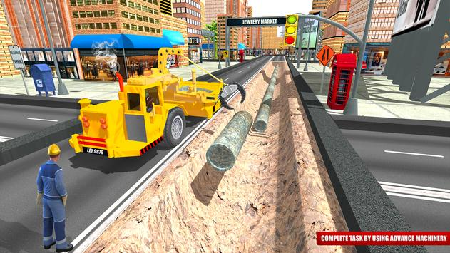 City Road Construction Sim 2018 screenshot 12
