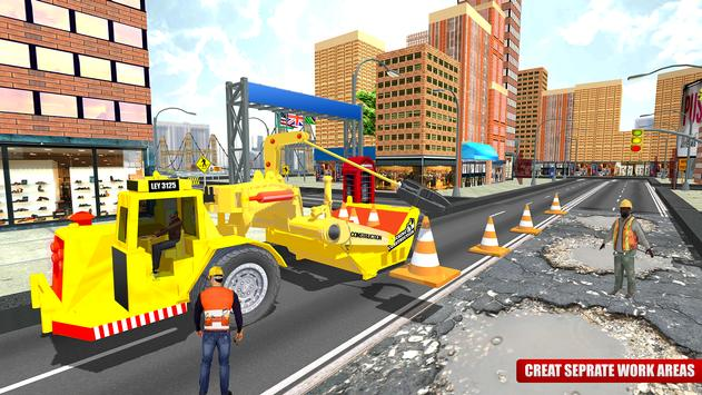 City Road Construction Sim 2018 screenshot 4