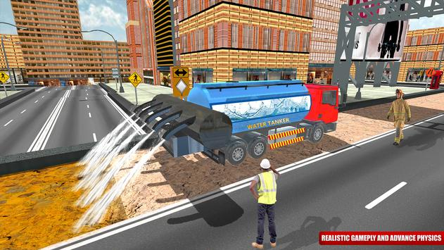 City Road Construction Sim 2018 screenshot 8