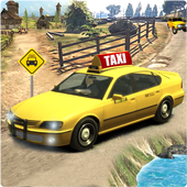 Real Taxi Simulator 2018 3D icon