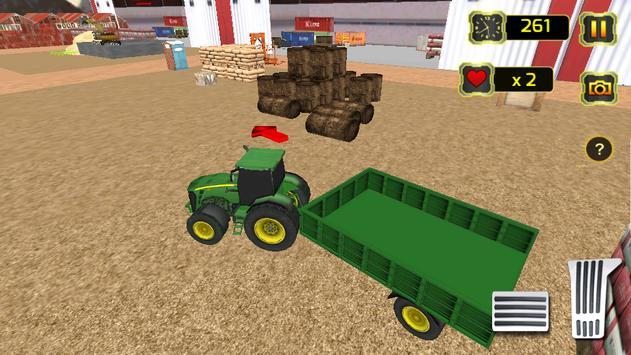 Real Tractor Simulator poster