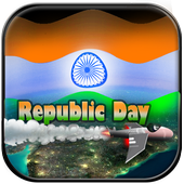 Indian Flag - 3D Effect icon