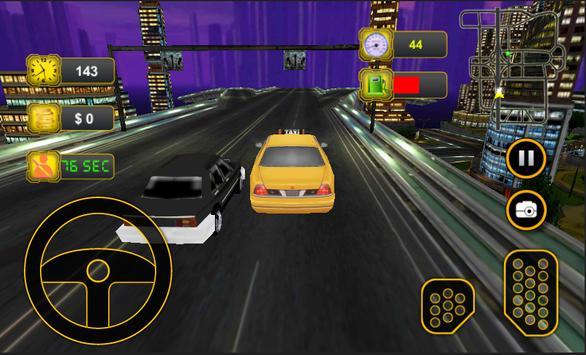 Taxi Car Driving 3D screenshot 2