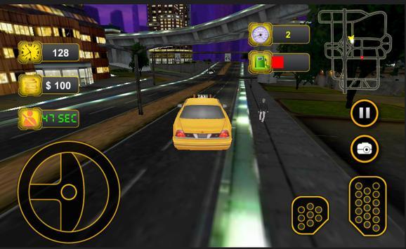 Taxi Car Driving 3D screenshot 6