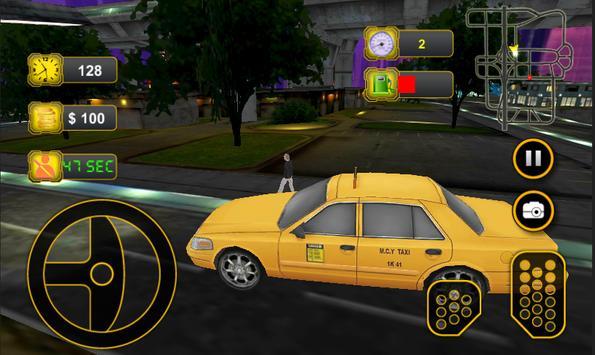 Taxi Car Driving 3D screenshot 7