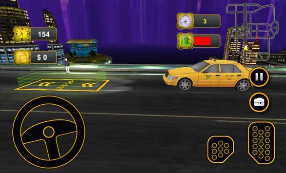 Taxi Car Driving 3D screenshot 8