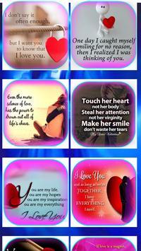 Romantic Love Quotes &Messages screenshot 1