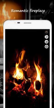 Romantic Fireplace poster