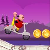 Motu patlu motobike game icon