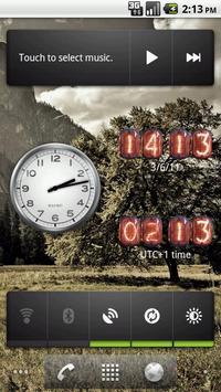 Nixie Clock Widget poster
