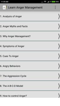 Learn Anger Management poster