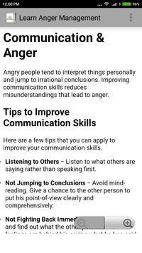 Learn Anger Management screenshot 2