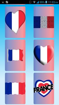 France Flag Wallpapers screenshot 1