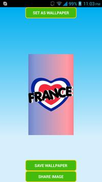 France Flag Wallpapers screenshot 2