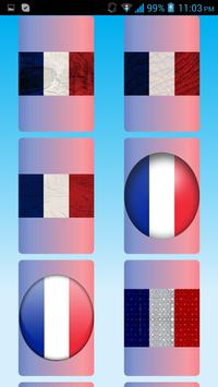 France Flag Wallpapers screenshot 7