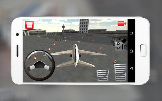 Airplane Airport Parking Sim3D screenshot 2