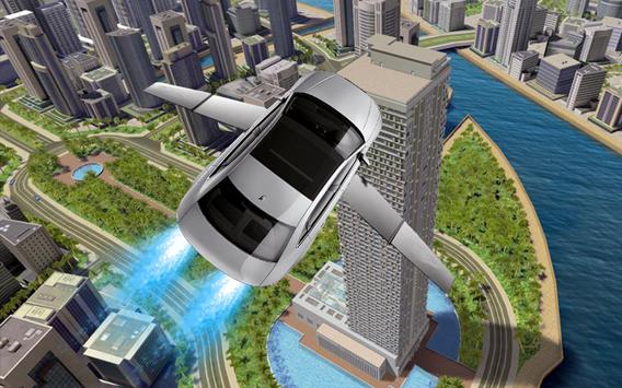 Flying Car Simulator 3D Plane poster