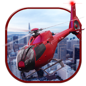 City Helicopter Game Simulator icon
